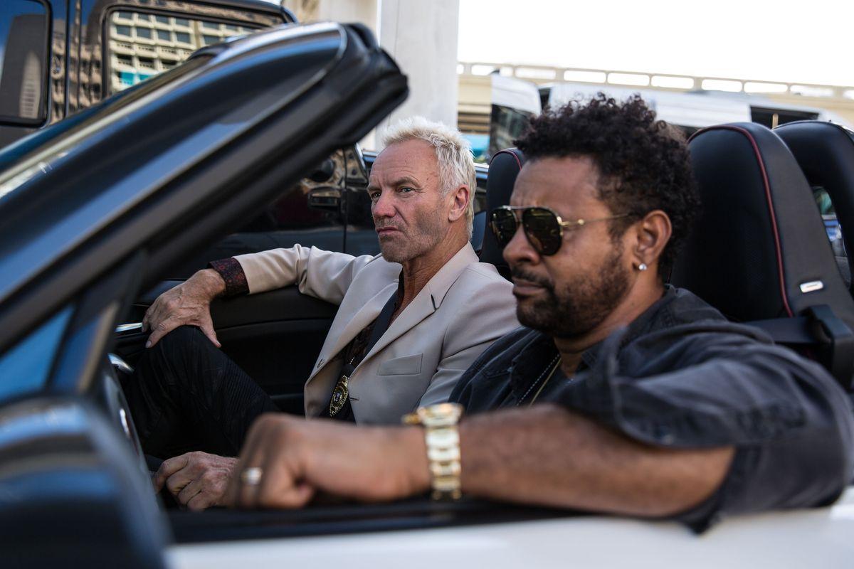 Sting und Shaggy rocken die Gangster im Abarth 124 Spider