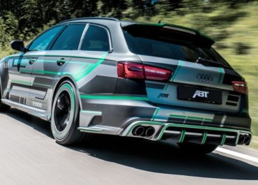 Hybrider RS 6 entfacht 1.018 PS