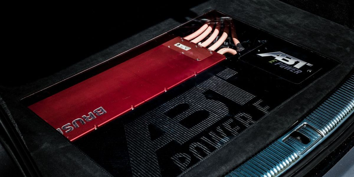 Abt Audi RS 6-E Concept