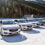 Im Schnee mit Opel