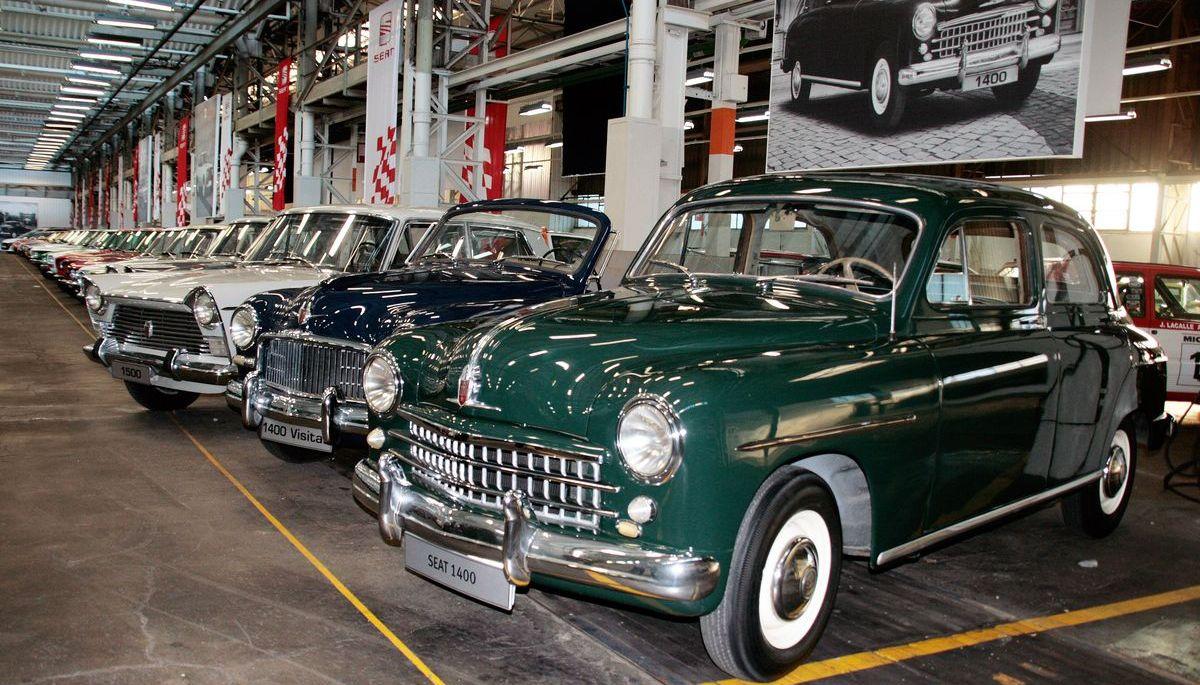 Seat 1400 in der Fahrzeugsammlung des Herstellers