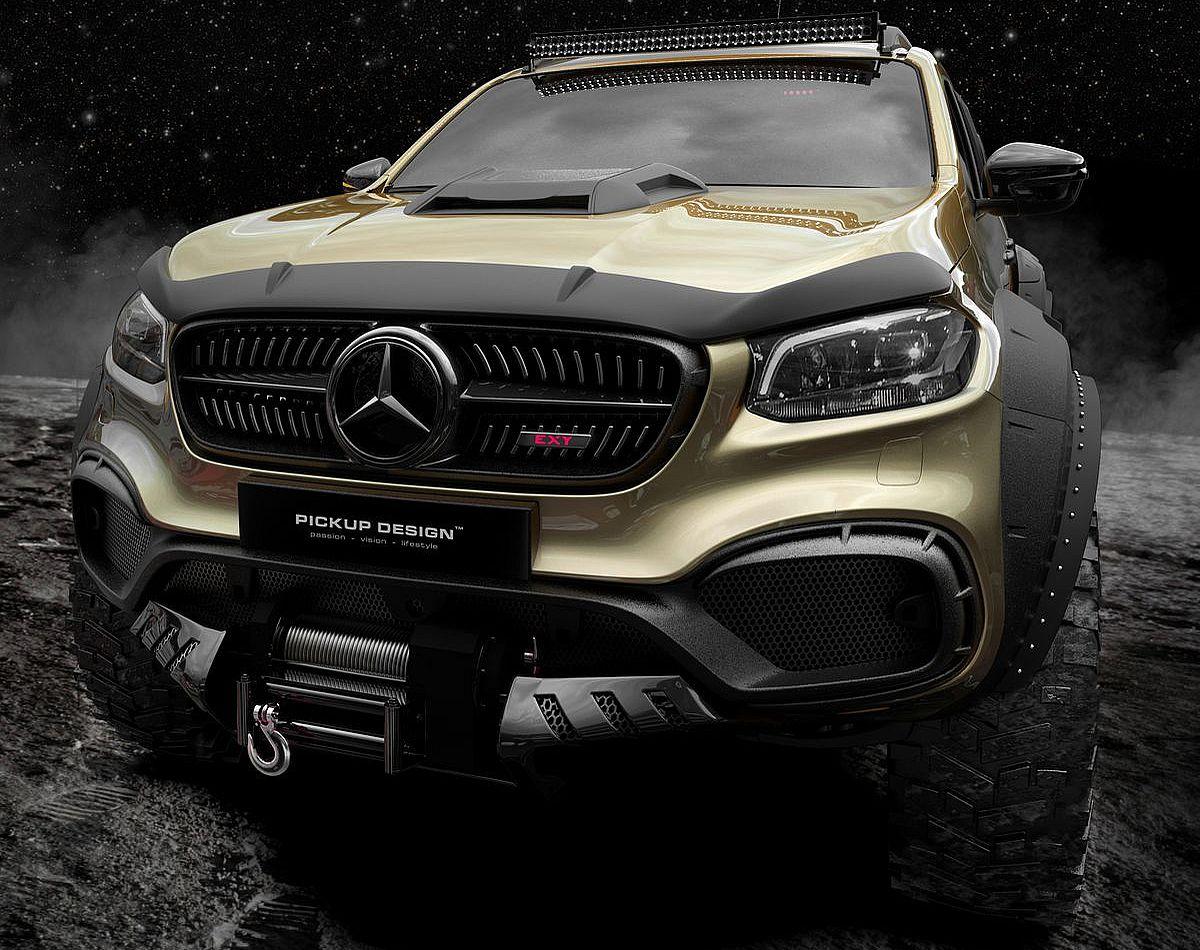 Mercedes-Benz X-Class Exy 6×6 Concept von Carlex Design