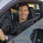 Webber fuhr den neuen 911er