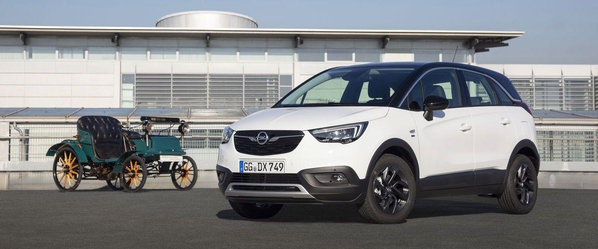 Opel Crossland X 120-Jahre-Edition