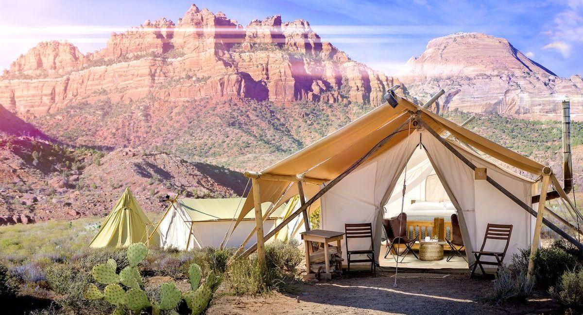 Glamping: Luxuszelte unter dem Sternenhimmel von Utah