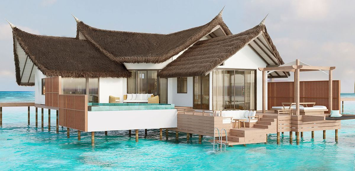 Private Ocean Retreats und Infinity Pool Ocean Villa