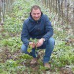 David Klenert ist erster deutscher Klima-Winzer