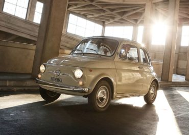 Fiat 500 im Museum of Modern Art