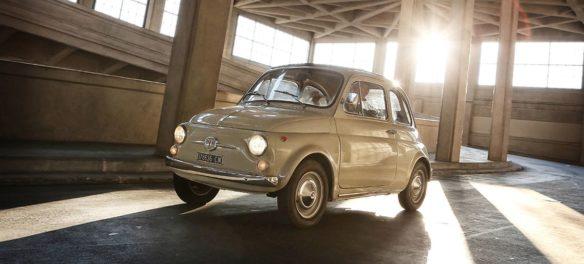 Fiat 500 im Museum of Modern Art