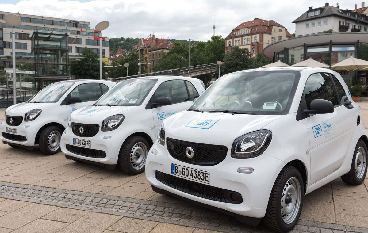 Smart EQ Fortwo Car2go