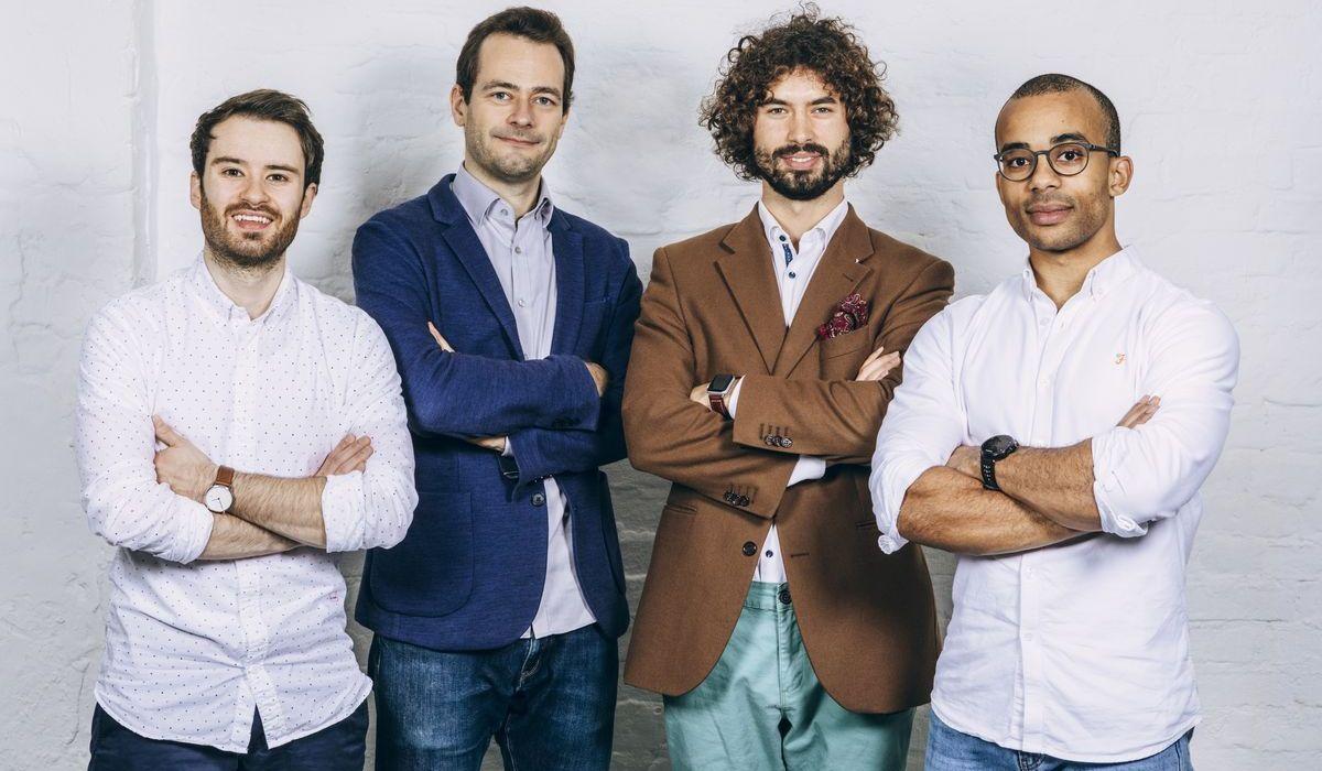 "Die ""Cara""-Gründer: André Sommer, Dr. Dankrad Feist, Orest Tarasiuk, Jesaja Brinkmann"