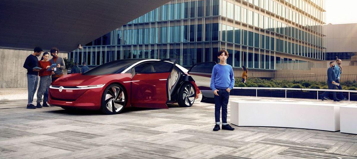 """VW-Marketingkampagne für die Dachmarke """"IQ.Drive""""."""