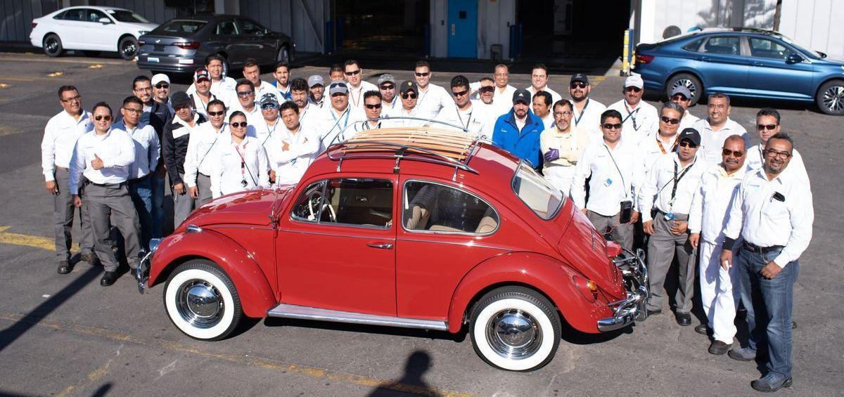 Restaurierung beim Volkswagen-Team