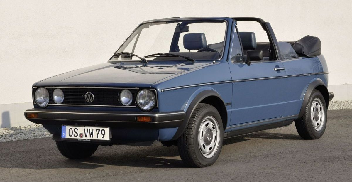 VW Golf I Cabriolet (1979)