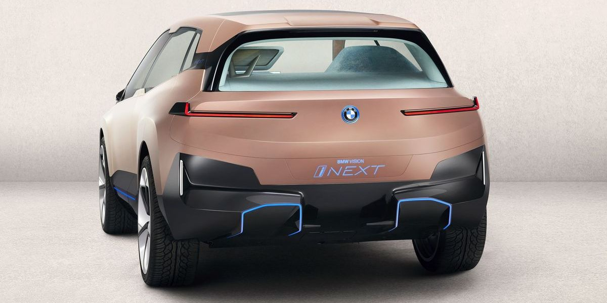 BMW Vision i-Next: Ein Auto, das ab 2021 autonom fahren könnte.