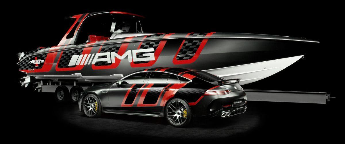 Mercedes-AMG und Cigarette Racing, 41' AMG Carbon Edition