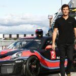 Webber dreht Runden im GT2 RS Clubsport