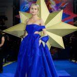 Outfit der Woche: Brie Larson im blauen Ballkleid von Valentino