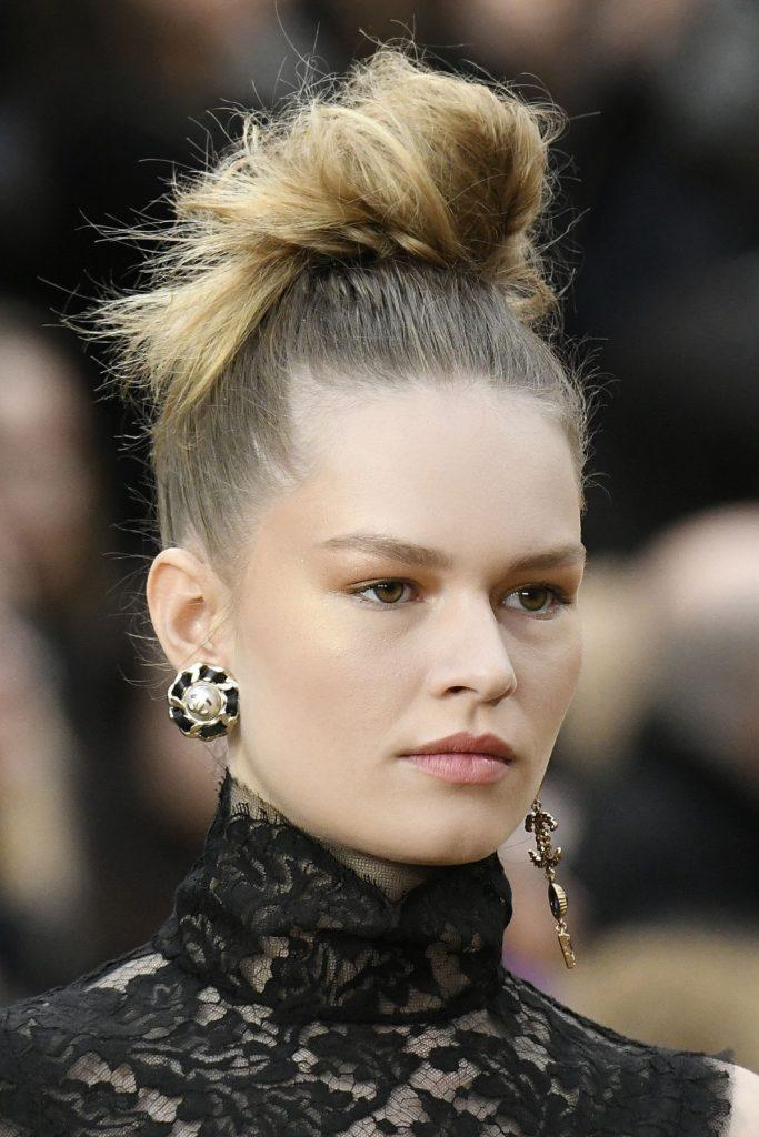 Model bei Chanel