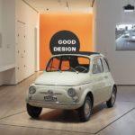 Der Fiat 500 ist moderne Kunst