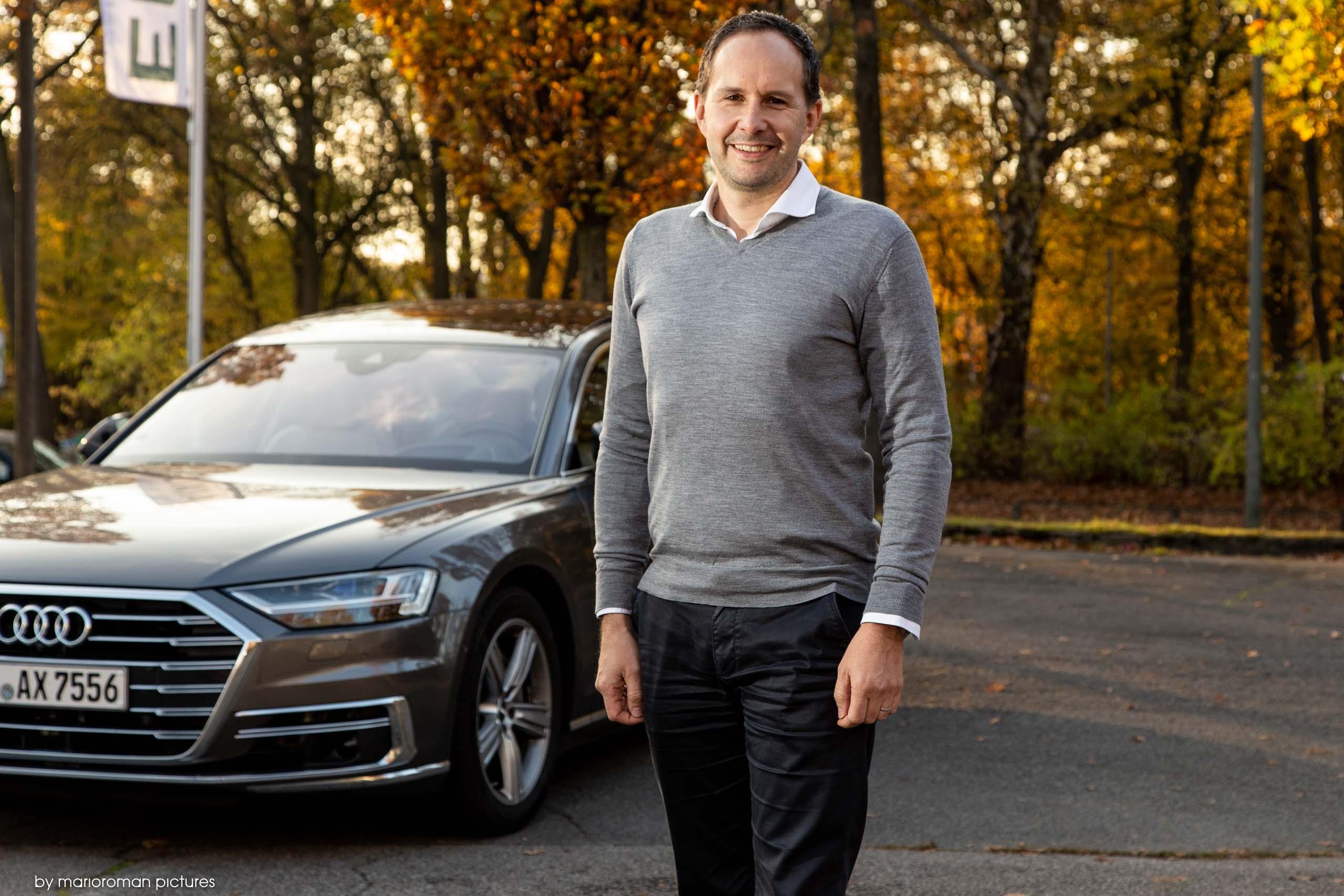 Heiko Pfeifer mit dem Audi A8 50 TDI Tiptronic Quattro