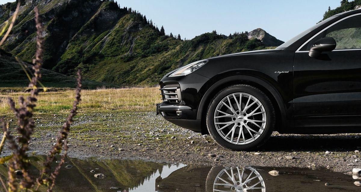 Neue Felgen: Panama von AEZ auf dem Porsche Cayenne.