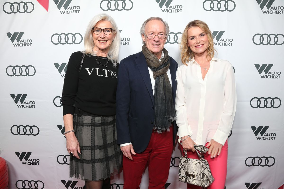 Almuth und Bernd Wehmeyer mit Andrea Lüdke