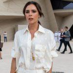 Outfit der Woche: Victoria Beckham ganz in Creme