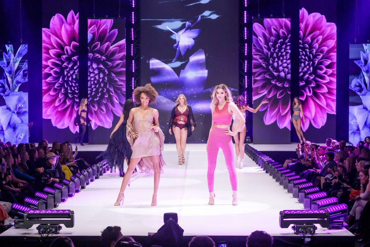 Amsterdam: Fashion-Show von Hunkemöller
