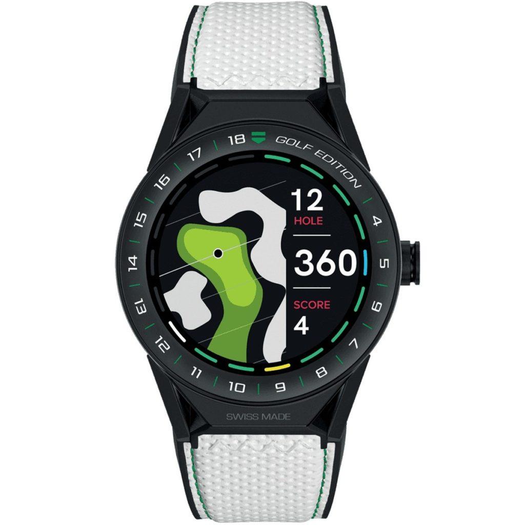 Tag Heuer bringt eine Smartwatch für Golfer auf den Markt