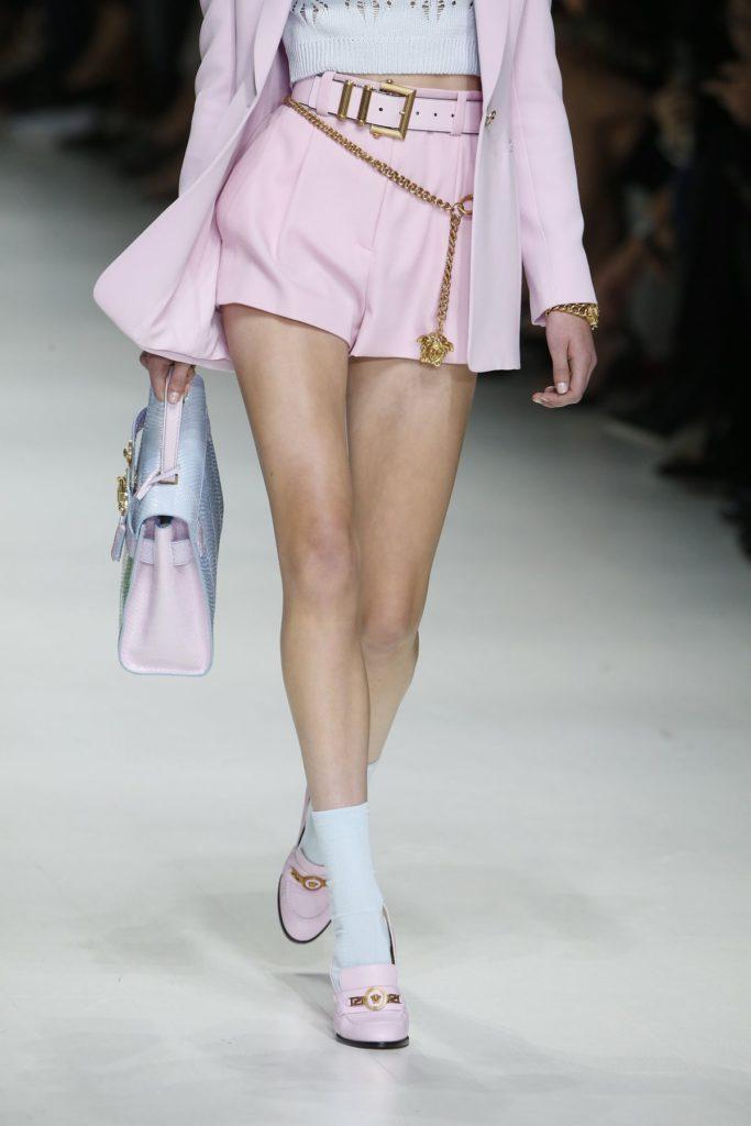 Versace: Socken in Heels