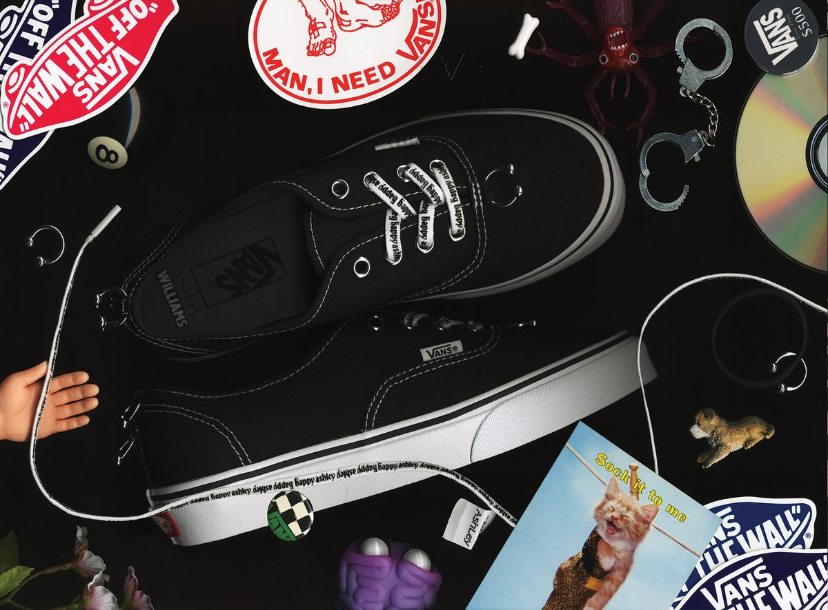 Off The Wall: Vans x Ashley Williams