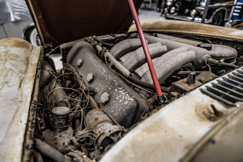 """Scheunenfund: Mercedes-Benz 300 SL """"Gullwing"""" (W 198)"""