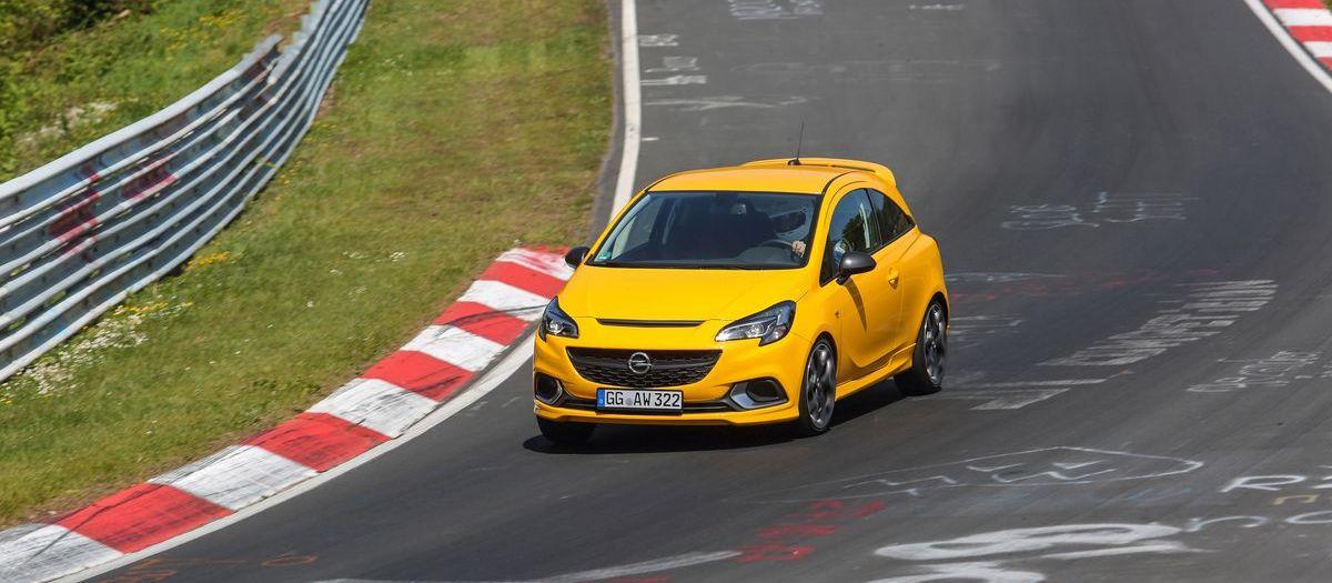 """""""Opel Experience"""" auf dem Nürburgring"""