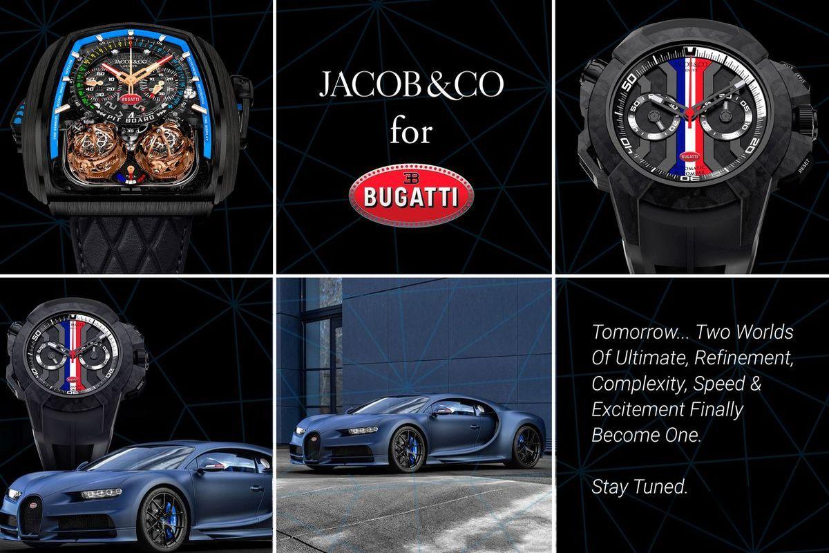 Baselworld: Uhrenhersteller Jacob & Co ist Bugatti-Partner