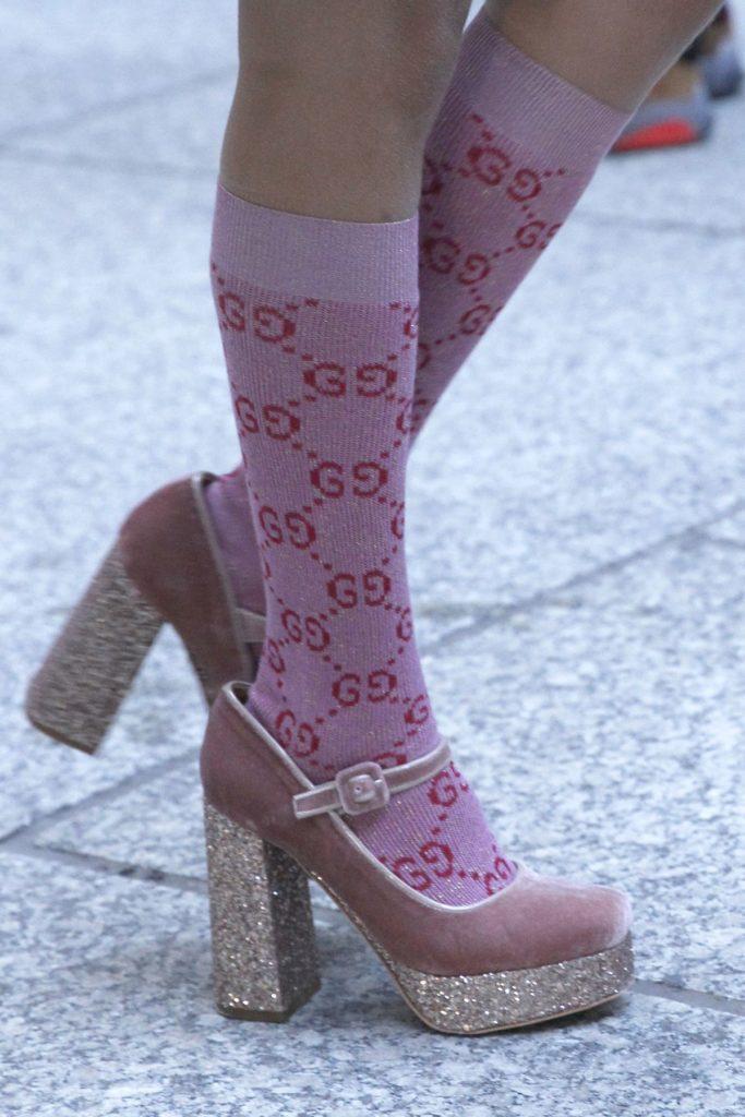 Gucci: Socken in Heels