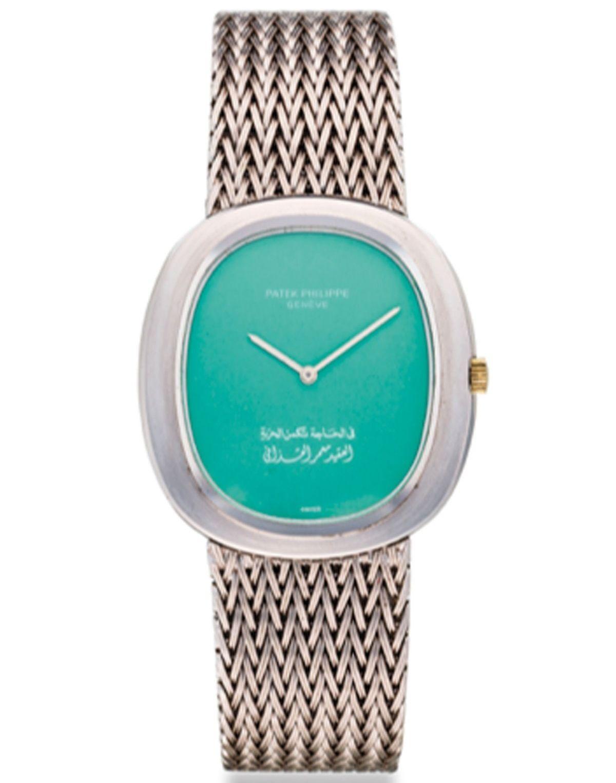 Gaddafis Uhr des Luxusuhrenherstellers Patek Philippe