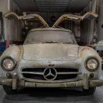 "Scheunenfund: Mercedes-Benz 300 SL ""Gullwing"" zeigt sich an der Atlantikküste"