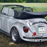 Historisches Fahrzeugmodell: Das beliebte VW Käfer Cabrio