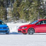 Mit den Gölfen im winterlichen Québec