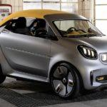 Smart Forease+: Showcar für den Automobilsalon