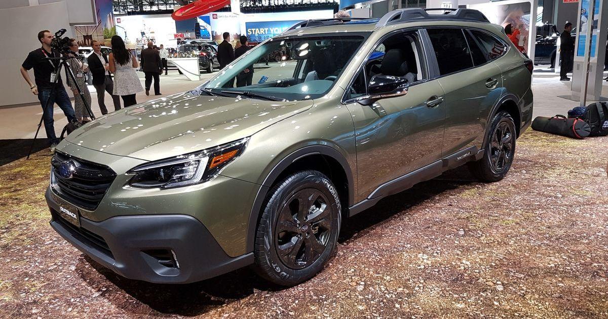 Subaru Outback, New York International Auto Show