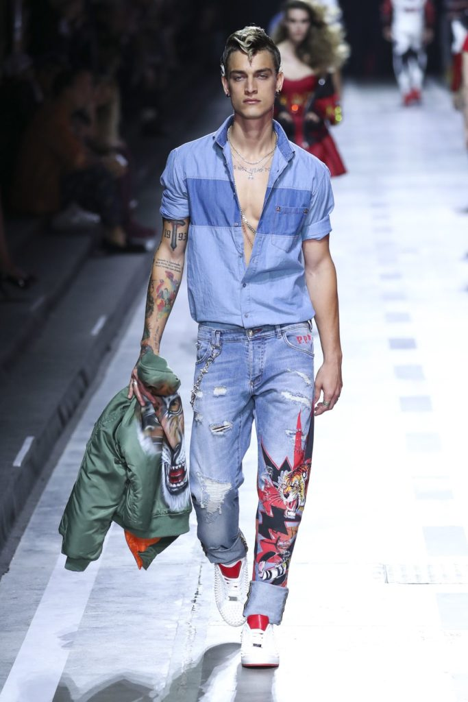 All-Denim-Look, Philipp Plein
