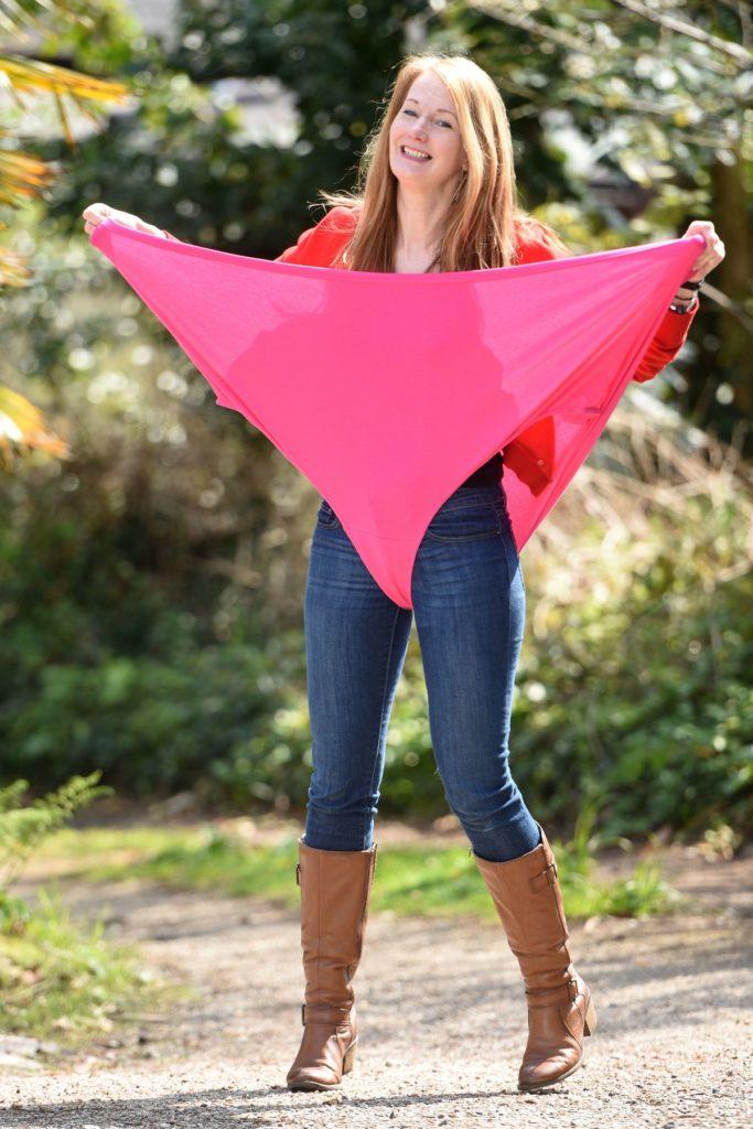 Helen Garnett zeigt ihre XXXL-Unterwäsche