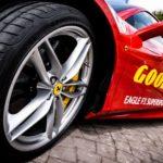 Rund und Schwarz: Neuer Goodyear-Reifen für Sportwagen