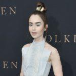 Outfit der Woche: Lily Collins in nachhaltiger Designermode