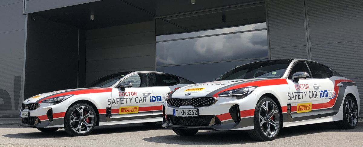 Safety-Car der IDM 2019: Kia Stinger 3.3 T-GDI
