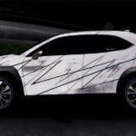 Krass gesprayter Lexus UX 250h