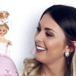 Barbie-Torte für die Ladies-Party