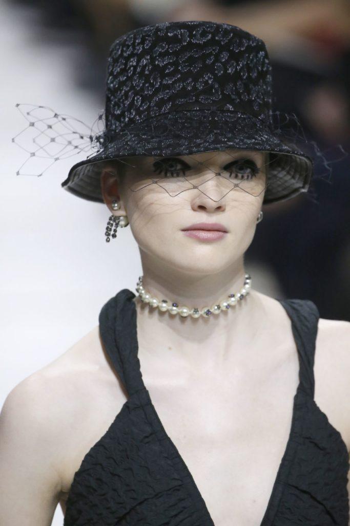 Model bei Christian Dior
